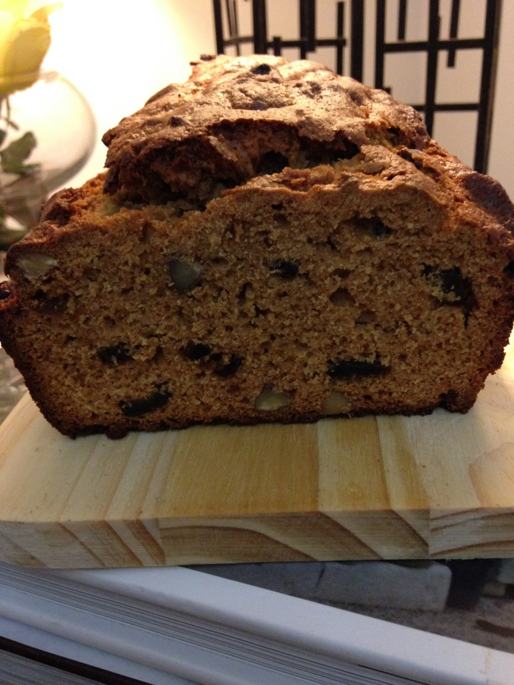 Apple, Date and Pecan Tea Bread